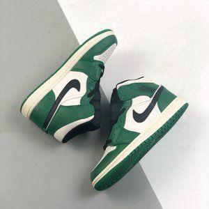 "Air Jordan 1 Retro High ""Court Purple"" Zhongbang AJ1 Jordan 1 The whole shoe is"